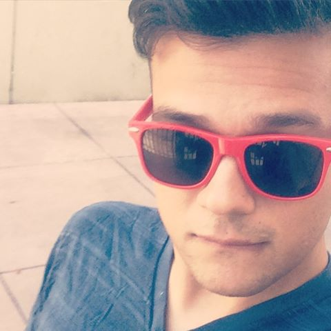 Biting my lower lip because it's suggestive and sexy. #dtla #losangeles #gayboy (Hint: it's ️.)