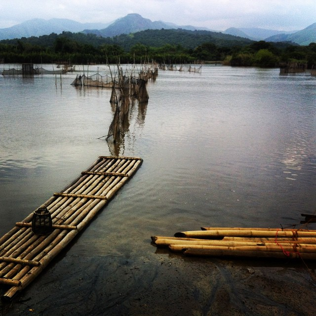 River and rafts. #philippines