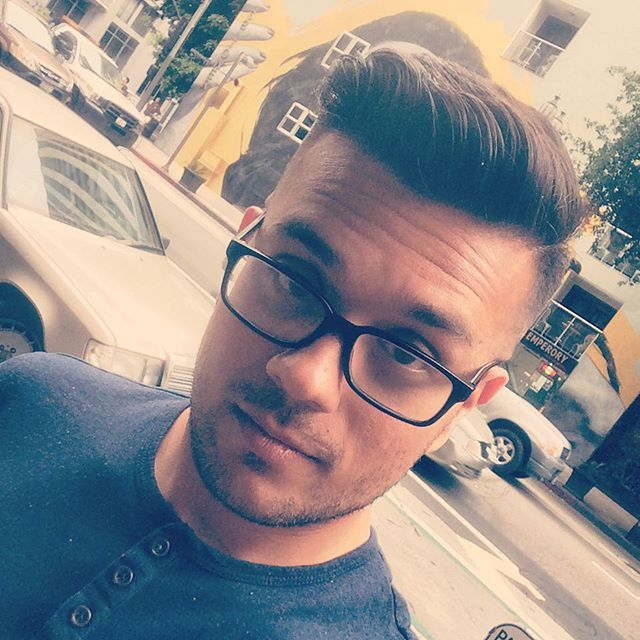 I feel fucking amazing every time I have my haircut. Thanks to Miss Angel at @floyds7thdtla. #dtla #losangeles #gayboy