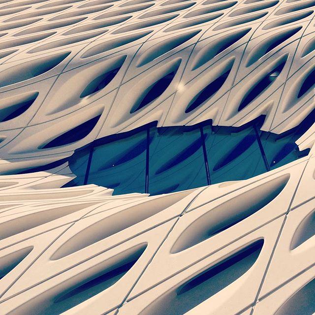 The Oculus of the Broad Museum. #dtla #losangeles #broadmuseum