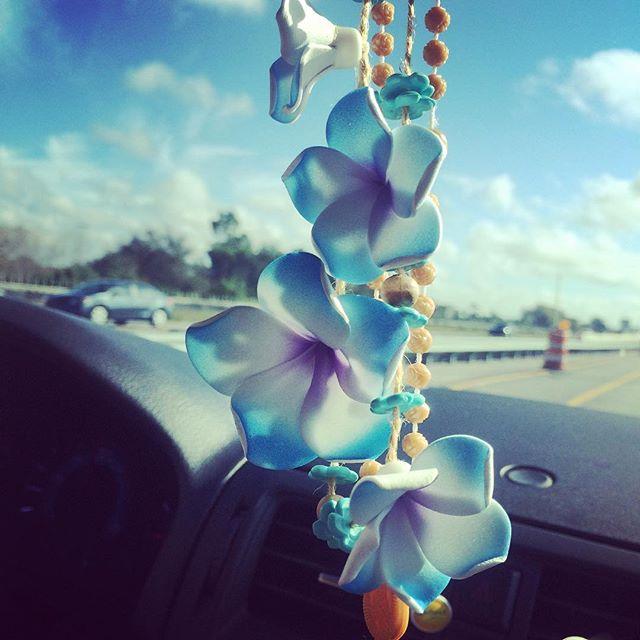 Artificial plumeria. On my way back to Los Angeles. #whorelando #florida
