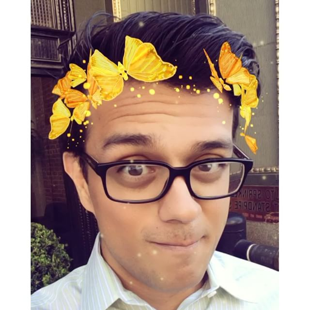 I want a real crown of butterflies.