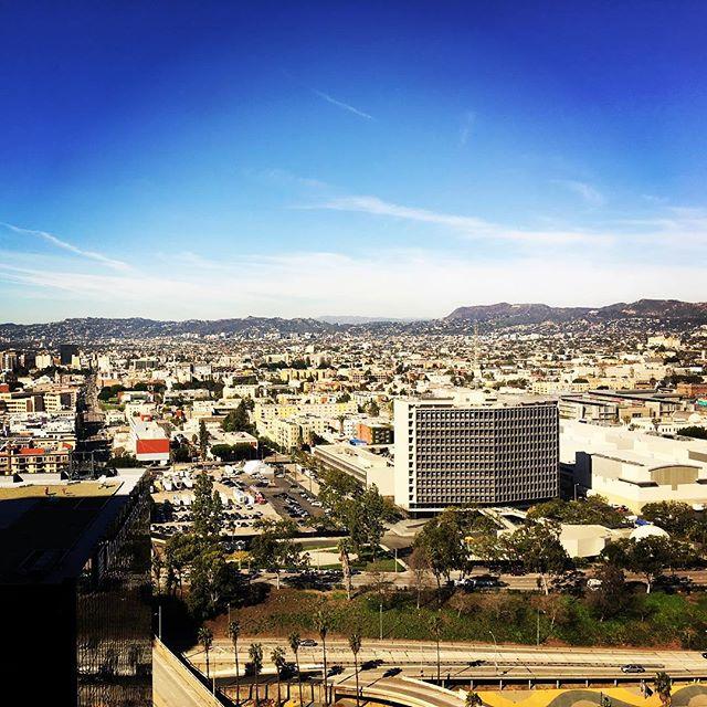 Nice view. #dtla #losangeles