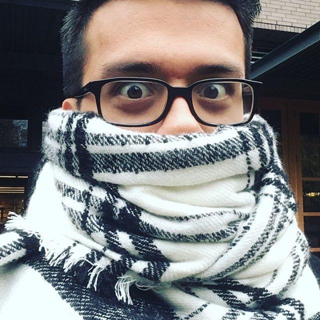 I look warm.